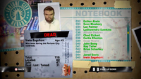Dead Rising irwin notebook