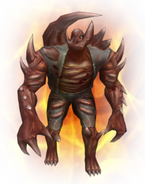 Flaming Titan