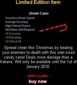 """""""Doom Cane"""""""