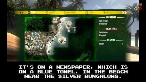 Dead Island - Id Card 04 Location