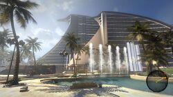 Di resort front
