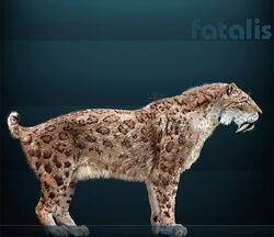 Smilodon fatalis Sergiodlarosa