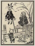 Dorothy and the Scarecrow 1900