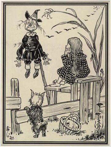 File:Dorothy and the Scarecrow 1900.jpg