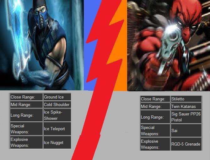 Sub-Zero vs. Deadpool