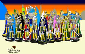 Persian-Arabian Knights