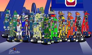 Galactic Dinosaur Rangers