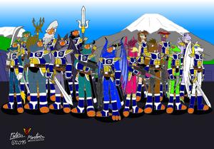 G-Police 5-5 - The Blue Commandos