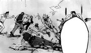 Ikaduchi killing Senji's team