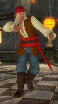 DOA5U halloween vol2 brad costume 12