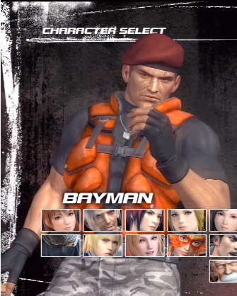 File:DOA5 Bayman C6 select.png