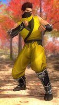 DOA5LR costume Ninja Clain Vol 2 Jann Lee