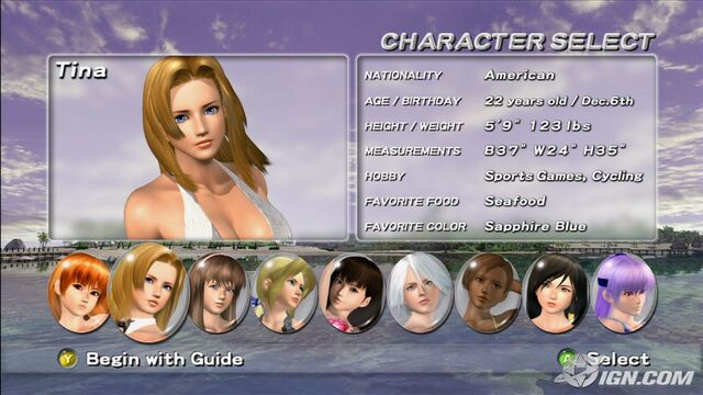 File:DOAXT2 Character Selection.jpg
