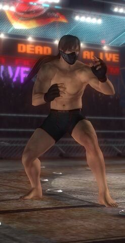 File:DOA5 Hayabusa Fighter Screen.jpg