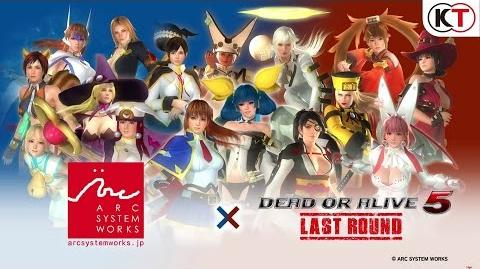 DEAD OR ALIVE 5 LAST ROUND ARC SYSTEM WORKS MASHUP!