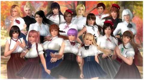 Dead or Alive 5 Last Round - High Society Costume Set