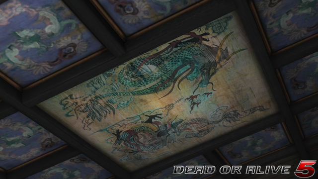 File:DOA5LR - Temple of the Dragon - Ceiling - screen by AdamCray and AgnessAngel.png