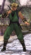 DOA5LR costume Ninja Clain Vol 2 Jacky
