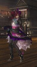 DOA5LR Samurai Warriors Costume Marie Rose