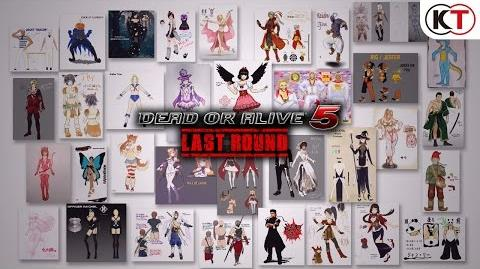 DEAD OR ALIVE 5 LAST ROUND - HALLOWEEN 2016 COSTUME TRAILER-0