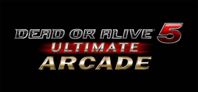 File:DOA5 Ultimate Arcade Logo.jpg