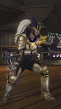 DOA5LR Samurai Warriors Costume Hayabusa