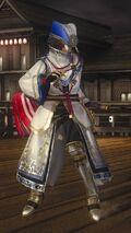 DOA5LR Samurai Warriors Costume Lisa