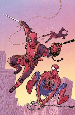 File:Spider-Man Deadpool Vol 1 3 Chiang Variant Textless.jpg