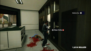 Dead rising clothing Grey Business Suit with Striped Tie Wallington's (2)