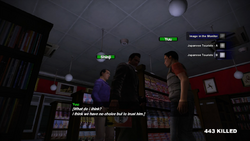 Dead rising japanese tourist and greg 2 talk to tourists
