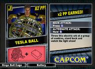 Dead rising 2 combo card Tesla Ball