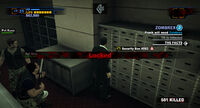 Dead rising Fortune City Bank vault security box 083 locked