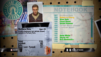 Dead Rising matthew notebook