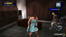 Dead rising blue dress and purse