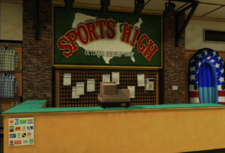 Sports High Counter