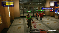 Dead rising escorting 5 survivors first day 3 food court carrying