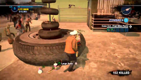 Dead rising 2 case 0 shed tire monument 102 killed
