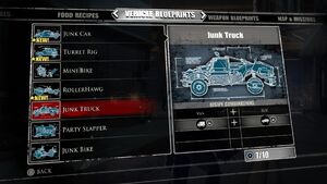 Junk Truck Blueprints