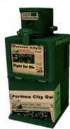 Dead rising Newspaper Box green