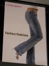 Fanfare Fashions Ad