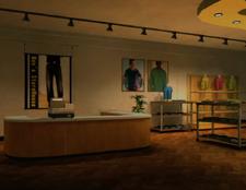 Men's Storehouse Window Interior