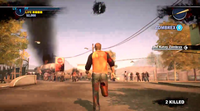 Dead rising 2 Case 0 quarantine zone approaching (4)