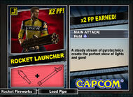 Dead rising 2 combo card Rocket Launcher