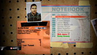 Archie notebook entry