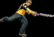 Dead rising katana sword jump