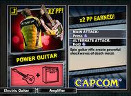 Dead rising 2 combo card Power Guitar