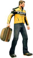 Dead rising small suitcase holding
