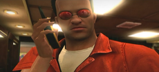 Dead rising Universe Of Optics glasses Sunglasses, Red Armless