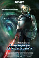 Combo card poster laser sword laser knight