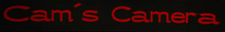 Cam's Camera Sign